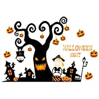 Outivity Halloween Decorations Wall Stickers, Removable Halloween Wall Decal Stickers, Window Decor Party Supplies for Home, Kids Rooms (1)