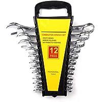 Jurmann ST27–6C 12pezzi Set chiave combinata a forchetta chiave combinata SW 6–22con supporto