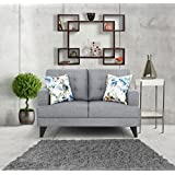 Urban Living Columbus Two Seater Sectional Sofa (Grey)