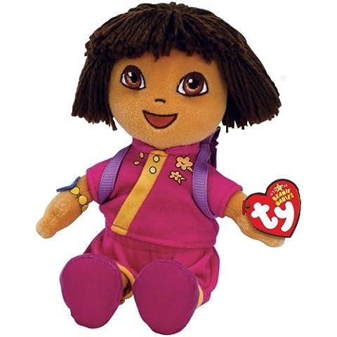 TY Peluche - Beanie Babies (Dora la Exploradora) Dora de China - 20 cm.(Código 40451)