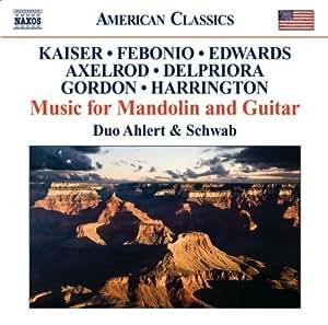 Music For Mandolin/ Guitar (Naxos: 8.559686)
