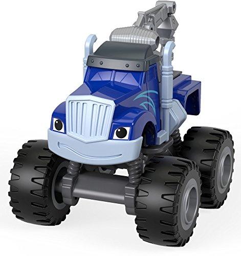 Mattel – FHV24 – Blaze und die Monstermaschinen – Tow Truck Crusher – - Truck Diecast Tow