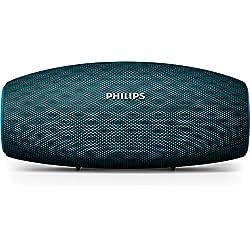 Philips Everplay BT6900A Enceinte Bluetooth Waterproof, Antichoc, avec Dragonne USB, 10h Autonomie, Bleu