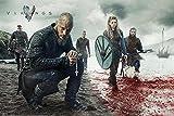 """Póster Vikigs/Vikingos """"Blood Landscape"""" (Paisaje Sangriento) (91,5cm x 61cm) + 1 póster sorpresa de regalo"""