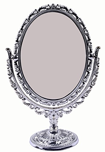 FULLY Makeup Mirror for Girls / Desk Standing Table Mirrors / Ladies Dresser Mirrors / Women Portable Mirror