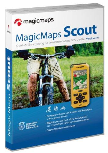 MagicMaps Scout 4.0 Outdoorerweiterung für Lowrance Endura GPS-Geräte mit Tour Explorer 50 Deutschland: Erweiterung für Falk-Navigationsgeräte für ... und Touren auf mobile Geräte übertragen.) Lowrance-karten