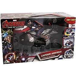 Avengers Motocicleta del Capitán America (Giochi Preziosi 20726)