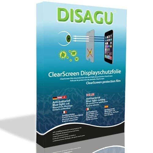 """4 x DISAGU ClearScreen Displayschutzfolie Displayfolie für Samsung SGH-Z140 (Antibakteriell, """"blue light"""" Filter, Blasenfreie Montage, Passgenauer Zuschnitt)"""