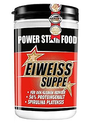 EIWEISS DIÄT GEMÜSE SUPPE, Dose 400 g, ideale Zwischenmahlzeit mit 56% Proteingehalt während einer Diät. Gewichtsmanagement