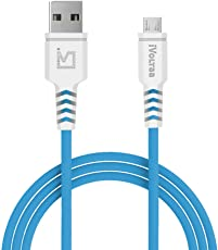 iVoltaa Helios Micro USB Cable - 4 Feet (1.2 Meters) - Blue