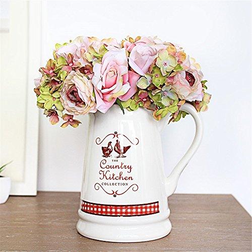 NOHOPE Tabella Desktop floreali emulazione idilliaco bouquet