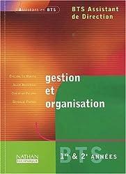 Gestion et organisation BTS Assistant de Direction