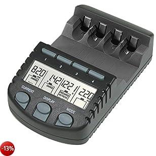 Technoline BC 700 Caricatore per batterie, colore: Nero [Germania]