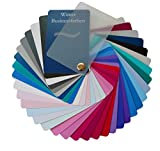 Farbpass Business Winter (cool Winter) als Fächer mit 34 typgechten Farben zur Farbanalyse, Farbberatung