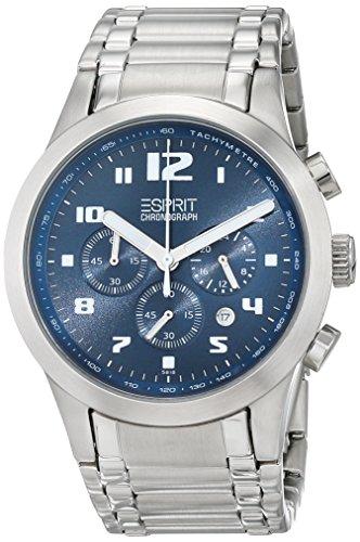 Esprit 84A6.1CPA2.5818.L45 - Reloj de Pulsera Hombre, Acero Inoxidable, Color Plateado