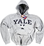 Yale Camiseta Camiseta de Sudadera con Capucha University Bulldogs banderín Sombrero Prendas de Vestir Gris Gris Large