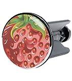 Waschbeckenstöpsel Strawberry, passend für alle handelsüblichen Waschbecken, hochwertige Qualität ✶✶✶✶✶