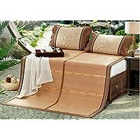 Coole Matratze Bambusmatten doppelte Matten Matten Bambusmatten gefaltete kohlensäurehaltige Doppelsitze neue Bambusmatte 1,8m (6 Fuß) Bett Coole Bambusmatte ( größe : 1.5m (5 feet) bed ) preisvergleich bei kinderzimmerdekopreise.eu