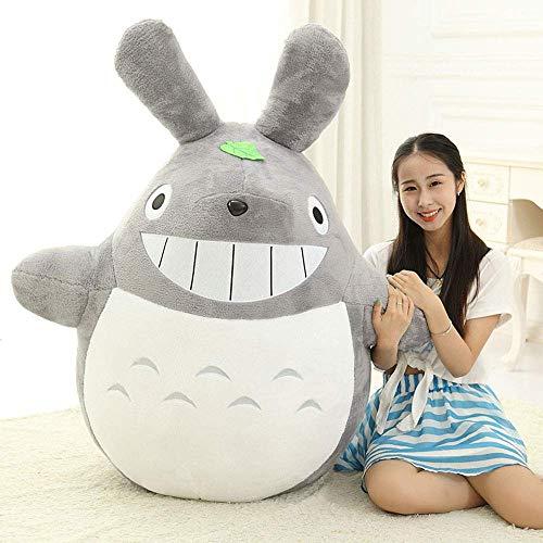 L&WB Mehrere Größen, große Cute Totoro Plush Jumbo Riesen große Tiere gefüllte Spielzeug weiches Puppen-Kissen Kissen Geburtstag Gift Holiday,B,100cm (Große Hase Gefüllte)