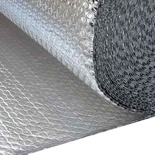 Isolierfolie für Wohnmobil, 1 m x 10 m, Aluminium