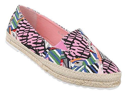 Stilvoll und elegant Damen Schuhe rosa weiß Lacoste Sneaker