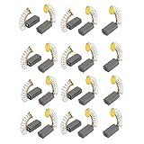 sourcingmap® 20 Stk 12 mm x 6 mm x 4 mm Motor Kohlebürsten für generische Elektromotor