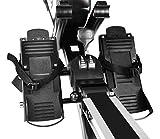 Gregster Turbinen Rudermaschine, Computer inkl. 5 kHz Pulsempfänger, bis 150 kg Benutzergewicht, klappbar, geprüft nach EN ISO 20957-1/EN 957-7 - 5
