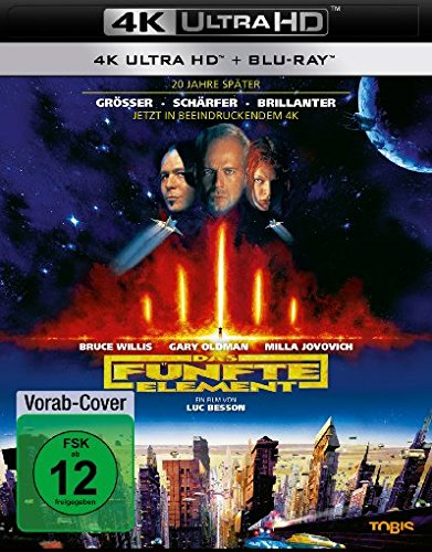 Das fünfte Element (4K Ultra HD) (+ Blu-ray 2D)