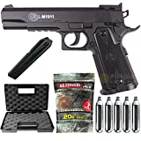 Airsoft Pack Colt 1911 Match Co2-Cybergun 180306- Semi Automatik (0,5 Joule) -mit Zubehör