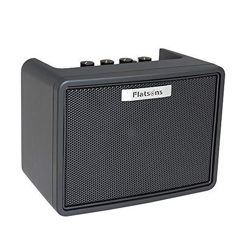 Audio Technica, Chshe, Mini-Gitarrenverstärker, Tragbarer Usb-Verstärker Für Akustikgitarre/E-Gitarre Ukulele (Schwarz)