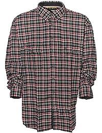 camel active Flanellhemd Hemd Shirt Herren Langarm Button Down Regular Fit 0f62e3110e