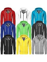 277c9f1c3604 ... Sweatjacke Zip Hoodie Sweatshirt 18110 Sweater mit Kapuze  Reißverschluss slim fit kontrast look · EUR 34,90 Prime. 3,2 von 5 Sternen  31 · Akito Tanaka ...