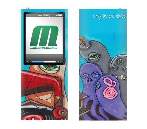 MusicSkins In4mation - Logo Schutzfolie für iPod Nano 4G Apple Ipod Nano 4g