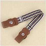 JSJJRFV Cinturón Nuevo NIÑO NIÑOS Cinturón de cinturón sin Hebilla Cinturón Elástico Sin Hebilla Estiramientos