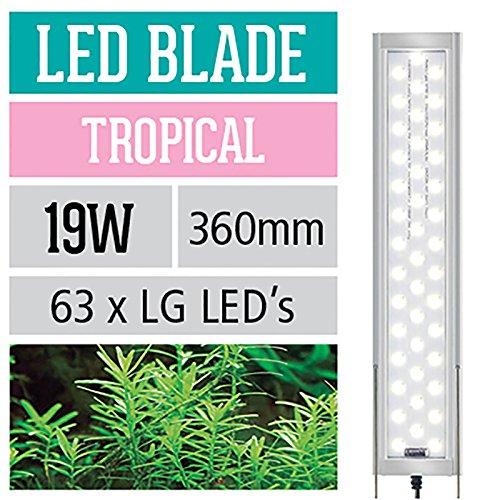 Arcadia LED Leuchte 19 Watt 360mm Series 5 Blade Tropical Aquarium Beleuchtung