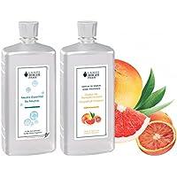 LAMPE BERGER Vorteilsset - 2 Düfte - 1000 ml Neutral und 1000 ml Pampelmuse-Grapefruit/Coeur de Pamplemousse inkl... preisvergleich bei billige-tabletten.eu