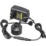 Ultrasonic Mist Maker 24V Nebulizer Atomizer Humidifier Aroma With 12 LED Lights (Black)