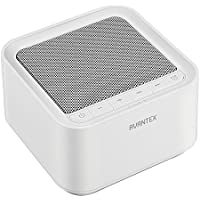 AVANTEK Sleep White Noise Machine, 20 Soothing Natural Sounds Therapy for Baby, Office, Relaxation, 7 Timer Settings, USB Powered, White