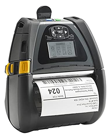 Zebra QLn420 - POS/mobile printers (Wired & Wireless, 240 x 128 pixels, 802.11a, 802.11b, 802.11g, 802.11n, Mobile, Direct thermal, 51 -