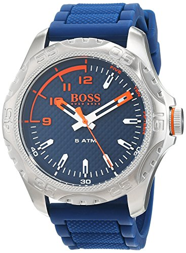 Hugo Boss Orange Mens Analogue Classic Quartz Watch with Silicone Strap 1550031