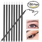 NUOLUX cepillos para los ojos, desechables Eyeliner Maquillaje Pincel Aplicador, 150pcs