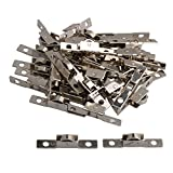 bqlzr Silber Schiebetür Roller Bearing Rad 10mm Durchmesser Rad für Kleiderschränke Schrank Glas 40Stück