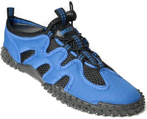 BECO Badeschuhe Aquaschuhe Strand Sneaker Beach Schuhe Gr 40 blau