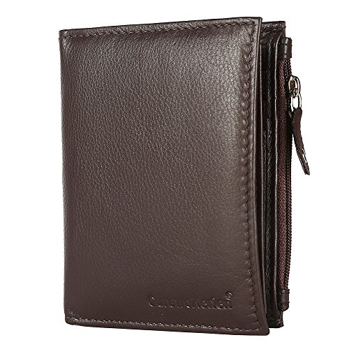 Curewe Kerien Brown Leather Men's Wallet
