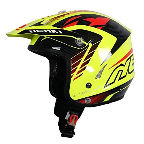Downhill Motocross Helm Cross Country Extreme Motorradhelm Fahrradhelm Grün Rot XXL