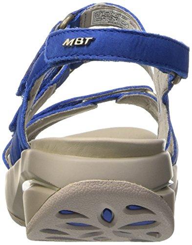 MBT Kiburi 5, Sandales Bride Cheville Femme, Noir, 15 EU Bleu (Blu)