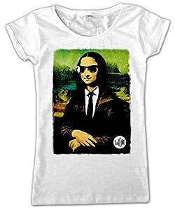 Video Delta-Le Iene Color Gioconda Camiseta, Para mujer, de talla L