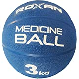 Roxan Vishwa Rubber Medicine Ball 3 kg   Without Handle   Abs Maker Medicine Ball, Best Exercise Medicine Ball, Perfect Grip Medicine Ball for Gym Exercise