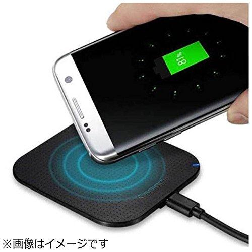 Cargador Wireless, Spigen Essential [4mm Ultra Slim] Qi Cargador Inalámbrico Wireless Charger iPhone X/8/8 Plus, Samsung Galaxy Note 8/S8/S8 Plus/S7/S7 Edge y todos los teléfonos Qi-Enable - F302W