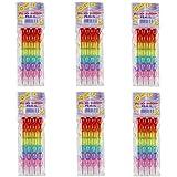 Parteet Stack Pencil Set for Kids (Multicolor, Pack of 6)